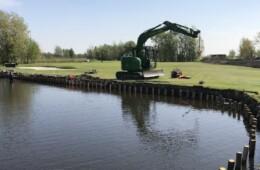 Grootschalige renovatie Golfbaan Delfland: realisatie Jol Golf Design, De Enk Groen&Golf en VAG